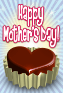 Chocolate Candy Mother's Day Card