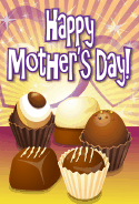 Chocolate Truffles Mother's Day Card