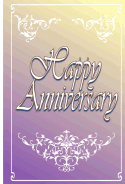 Fancy Anniversary Card