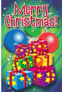 Gifts and Ornaments Christmas Card