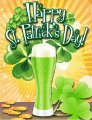 Green Beer Small St Patrick's Day Card