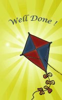Kite Well Done Card