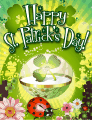 Ladybug Small St Patrick's Day Card