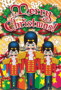 Merry Christmas Nutcrackers Card