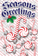 Seasons Greetings Candies Card