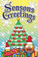 Seasons Greetings Monster Card