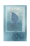 Sympathy Card with Leaf