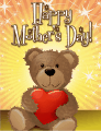 Teddy Bear Small Mother's Day Card