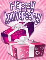 Two Gifts Small Anniversary Card