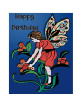 Birthday Card with Fairy (small)