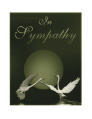 Sympathy Card with Birds (small)