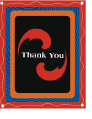 Bright Thank You Card (small)
