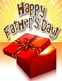 Red Box Small Father's Day Card Greeting Card