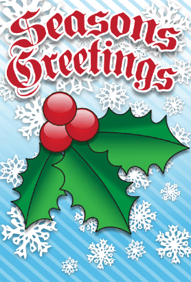 Seasons Greetings Card Greeting Card
