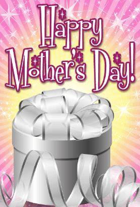 Silver Box Mother's Day Card Greeting Card