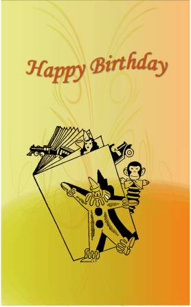 Toys Birthday Card Greeting Card