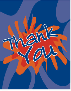 Thank You Card (small) Greeting Card